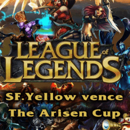 "LOL – SF.Yellow vence torneio ""The Arisen Cup"""