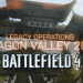 Battlefield 4 – Legacy Operations DLC com novo mapa