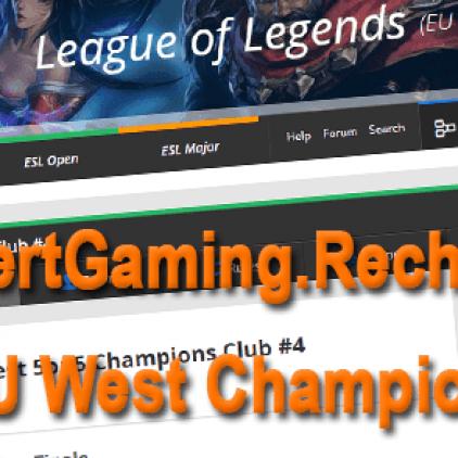 SeyfertGaming.Recharge em 2º na ESL – West 5on5 Champions Club #4