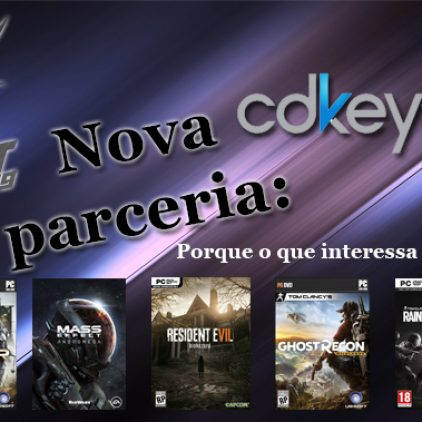 Nova parceria: cdkeys.com