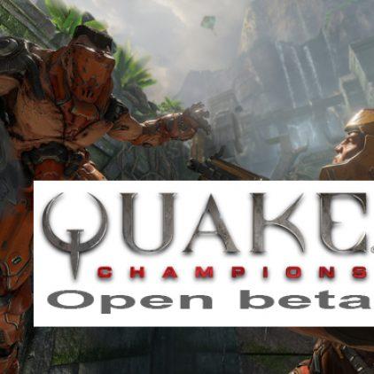 Quake Champions com Beta livre