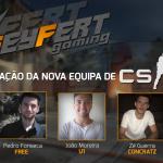 Nova equipa de CS:GO